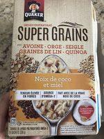 Super grain - gruau instantané - Produit - en
