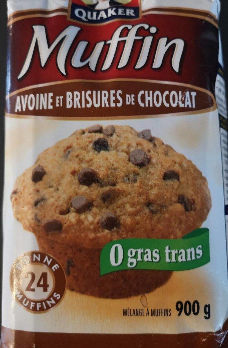 Muffin avoine et brisures de chocolat - Produit - fr