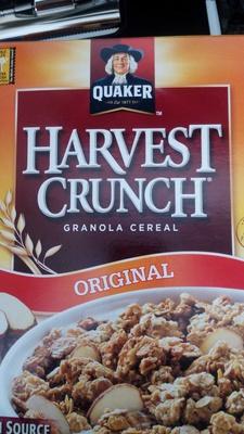 Harvest Crunch Granola Cereal Original - Product - en