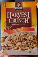 Harvest crunch granola cereal - Product - fr