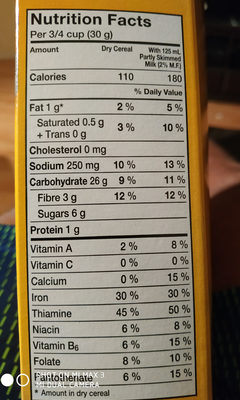 Corn squares au mais - Ingrediënten