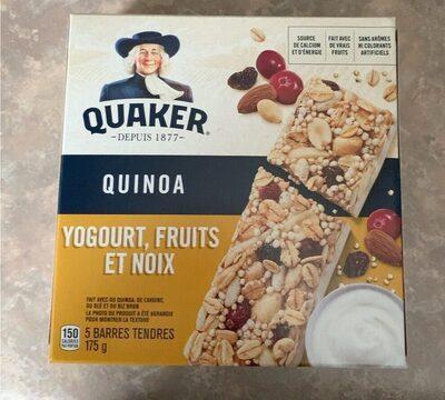 Barre Granola Quinoa Yogourt Noix - Product - en