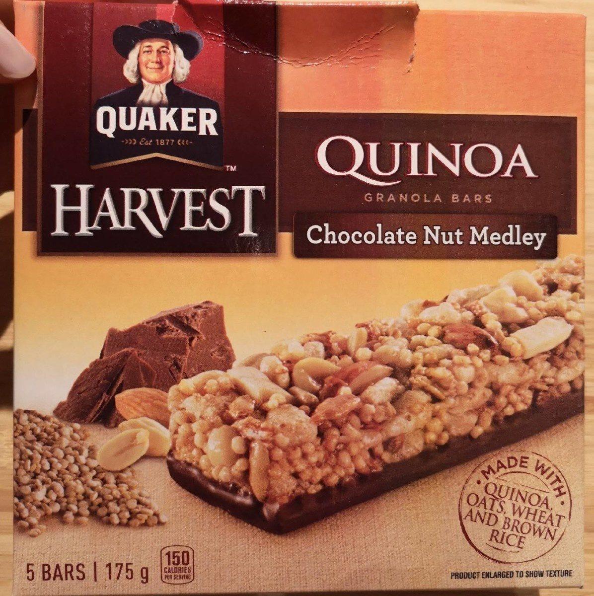 Quinoa Granola Bars Chocolate Nut Medley - Product