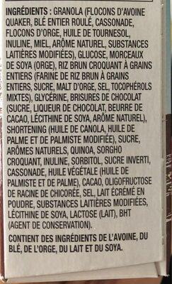 Chewy super grain - Ingrédients - fr