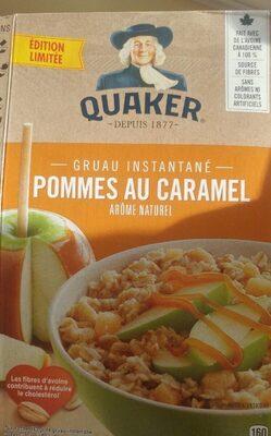 Gruau instantané pomme au caramel - Product - fr