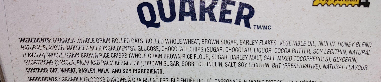 Chewy chocolate chip - Produit - fr