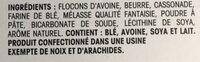 Petits Plaisirs - Ingrédients - fr