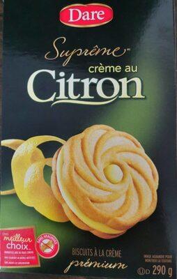 Crème au citron - Produit - en