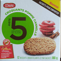 Dare croquants pomme cannelle - Product