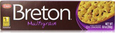 Dare Breton Crackers multigrain - Product - en