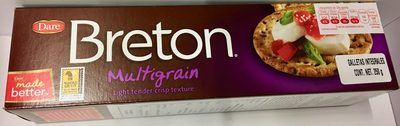 Dare, breton, multigrain crackers - Product