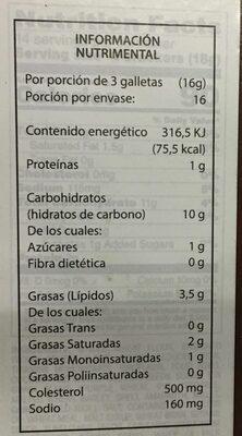 Dare, breton, multigrain crackers - Nutrition facts - en