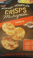 Breton, Popped ! Supergrain Air Popped Crackers, Barbecue - Product