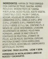 Vivant Italian Bruschetta - Ingredientes - es