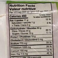 Quinoa Sud ouest - Informations nutritionnelles - fr