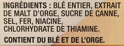 Céréales (blé Entier) - Ingredients - fr