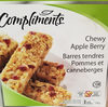 Barres tendres Pommes et canneberges - Product