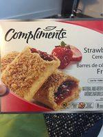 Barres De Céréales (fraises) - Product - fr