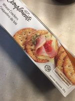 Wheat crackers - Product - fr