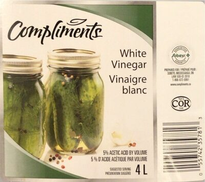 Vinaigre blanc - Produit - fr