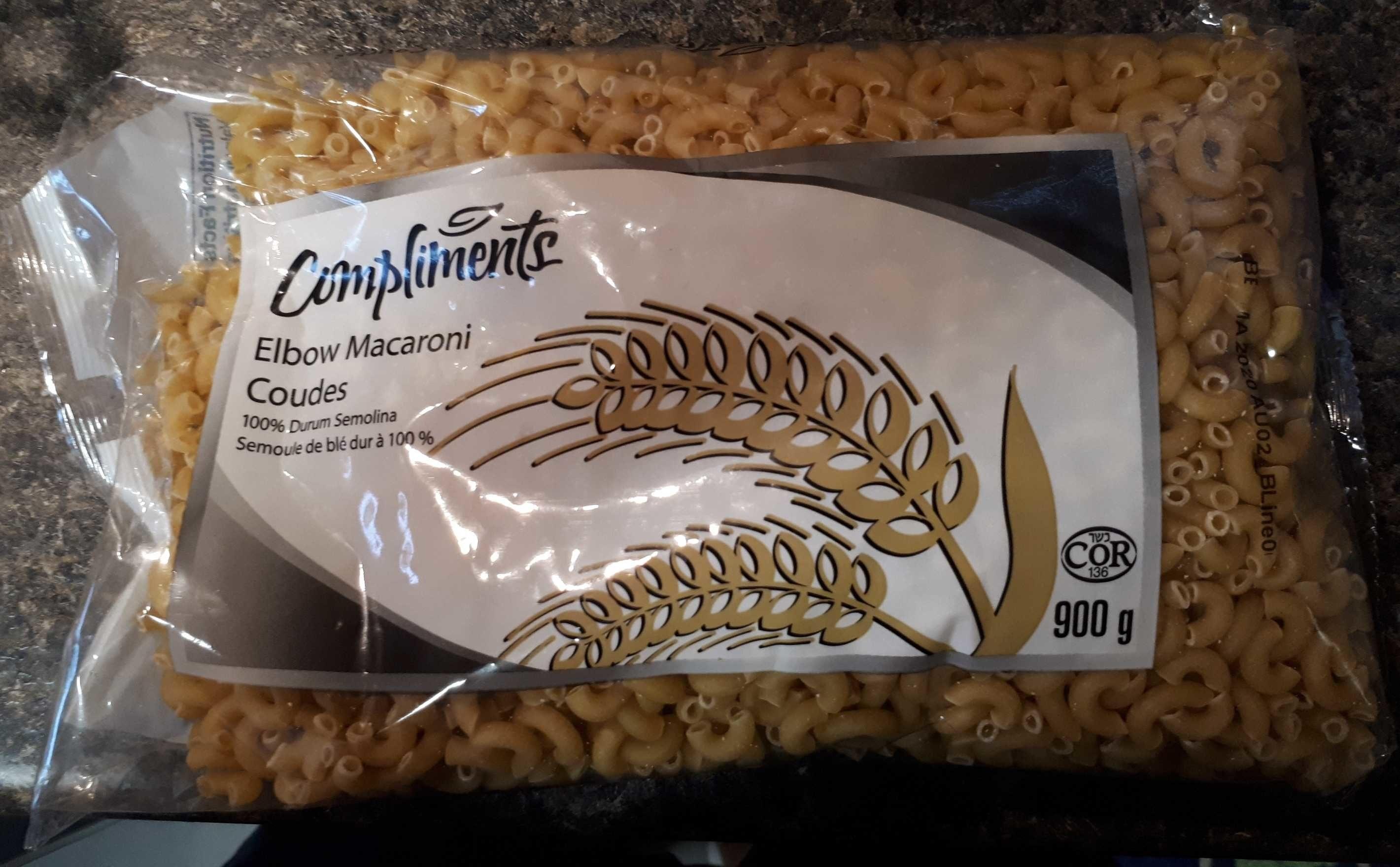 Elbow Macaroni - Produit - en