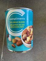Compliments Mélanges de 6 légumineuses - Product - fr
