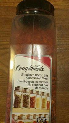 Simili bacon en miettes - Product - fr