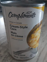 maïs en crème - Produit - fr