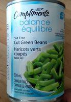 haricots verts coupés sans sel - Produit - fr