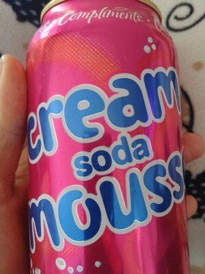 Cream soda mousse - Product - fr
