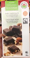 Dark chocolate with roasted almonds - Product - fr