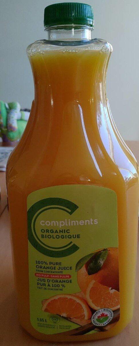 Jus d'orange pur 100% - Produit - fr