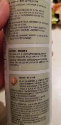 oil - Ingrédients