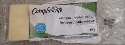 Medium Cheddar Cheese - Product