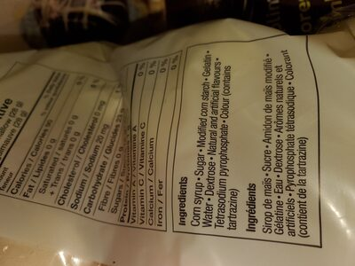 marshmallows - Ingrediënten - en