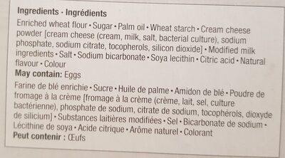Biscuits D'anniversaire Célébrons Le Canada - Ingrédients