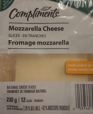Mozzarella cheese - Produit - fr