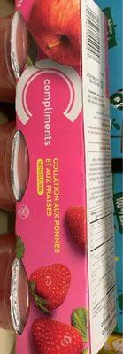 Collation aux pommes-fraises - Product - fr