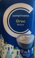 Yogourt grec - Nature 0% - Produit - fr