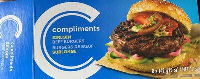 Burger de boeuf surlonge - Produit - fr