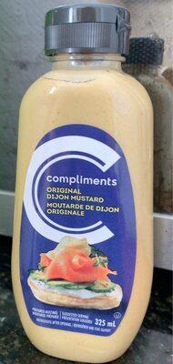 original dijon mustard - Produit - fr