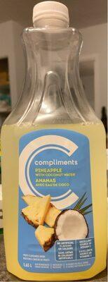 Ananas avec eau de coco - Produit - fr