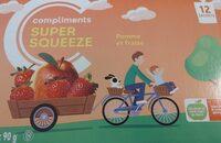 Super Squeeze (pommes et fraises) - Prodotto - fr