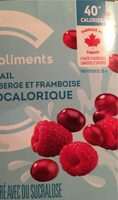 Cocktail canneberge framboise - Product - en