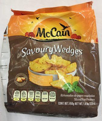 Papas Savoury Wedges Mc Cain - Product