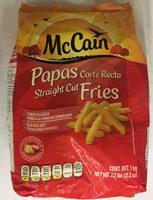 Papas Straight Cut Mc Cain - Produit - es