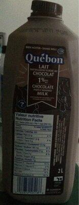 Lait partiellement ecremé au chocolat - Produit - fr