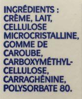 Crème à fouetter 35% - Ingrédients - fr