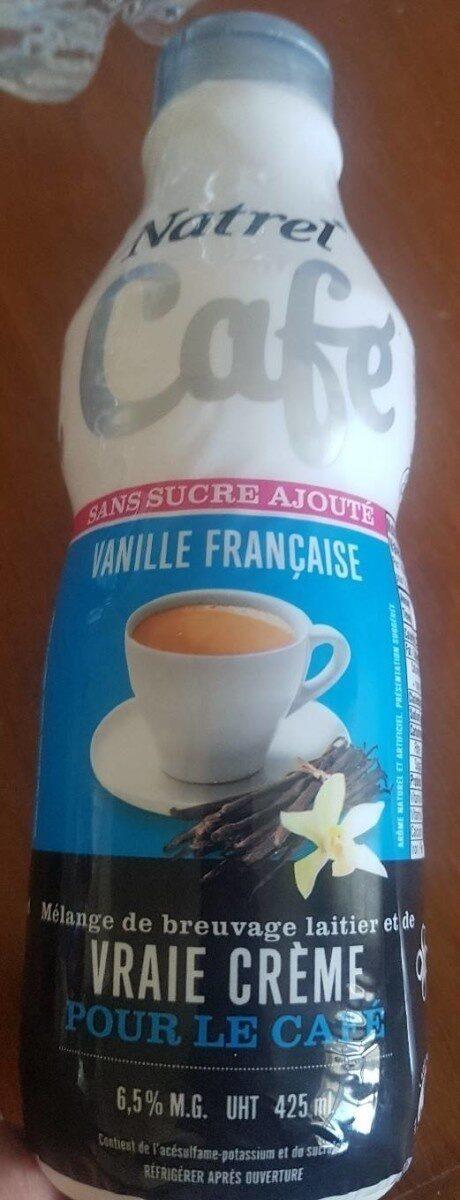 vraie crème à la vanille pour le café - Product - en
