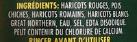Mélange De Légumineuses - Ingrédients - fr